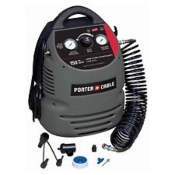 Porter-Cable CMB15 .08Hp 1.5 Gallon Oil-Free Compressor with Kit