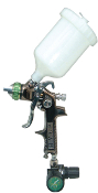 SPRAYIT SP-324 HVLP Gravity Feed Spray Gun with Air Regulator