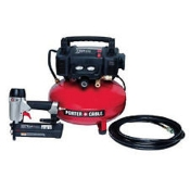 Porter-Cable PCFP12236 6 Gallon 150 Psi Compressor Kit